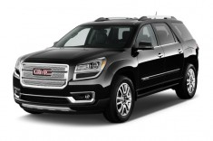 2013 GMC Acadia FWD 4-door Denali Angular Front Exterior View