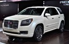 2013 GMC Acadia Live Photos: 2012 Chicago Auto Show
