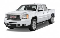 "2013 GMC Sierra 1500 AWD Crew Cab 143.5"" Denali Angular Front Exterior View"