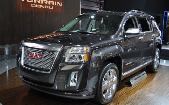 2013 GMC Terrain Denali Walkthrough: 2012 New York Auto Show