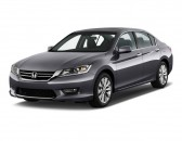 2013 Honda Accord Sedan 4-door V6 Auto EX-L Angular Front Exterior View