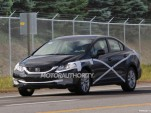 2013 Honda Civic facelift spy shots