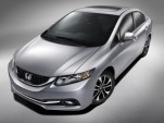 2013 Honda Civic: Revised Model Debuts At L.A. Auto Show