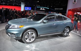 2013 Honda Crosstour Concept Live Photos: New York Auto Show