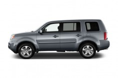 2013 Honda Pilot 2WD 4-door EX-L Side Exterior View