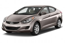 2013 Hyundai Elantra 4-door Sedan Auto GLS (Alabama Plant) Angular Front Exterior View