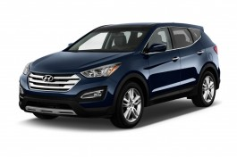 2013 Hyundai Santa Fe Sport FWD 4-door Sport Angular Front Exterior View