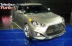 2013 Hyundai Veloster Turbo Live Pics: 2012 Detroit Auto Show