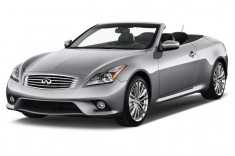 2013 Infiniti G37 Convertible 2-door Base Angular Front Exterior View