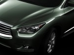 2013 Infiniti JX Concept: Fourth Teaser Photo Of Luxury Family Crossover