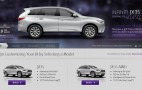 2013 Infiniti JX Gets Its Own Online Configurator