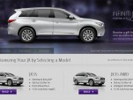 2013 Infiniti JX online configurator