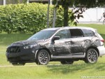 2013 Infiniti JX spy shots