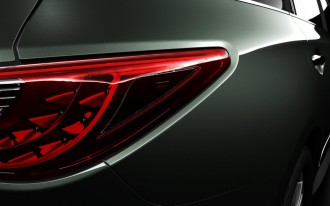 2013 Infiniti JX Concept: Second Teaser Photo of Luxury Family Crossover
