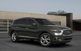 2013 Infiniti JX Concept: Global Reveal From Pebble Beach
