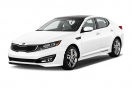 2013 Kia Optima 4-door Sedan SX w/Limited Pkg Angular Front Exterior View