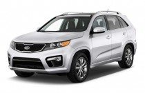 2013 Kia Sorento 2WD 4-door V6 SX Angular Front Exterior View
