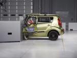 2013 Kia Soul  -  rated POOR in IIHS small overlap frontal impact test