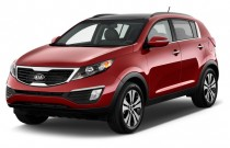 2013 Kia Sportage 2WD 4-door EX Angular Front Exterior View