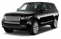 2013 Land Rover Range Rover 4WD 4-door HSE Angular Front Exterior View