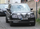 2013 Land Rover Range Rover spy shots