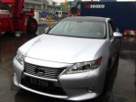 2013 Lexus ES250 spied in China, via XCar forums.