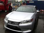 2013 Lexus ES250 spied in China, via XCar forums.