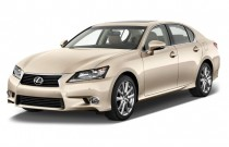 2013 Lexus GS 350 4-door Sedan RWD Angular Front Exterior View