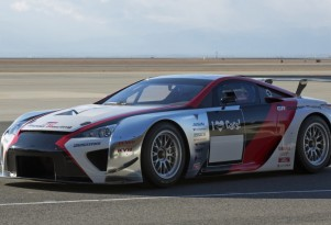 2013 Lexus LFA race car