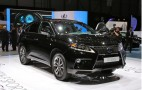 Lexus RX 450h F-Sport Live Photos: 2012 Geneva Motor Show