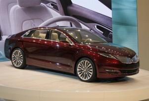 2013 Lincoln MKZ Concept: Detroit Auto Show Video