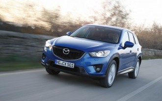 2013 Mazda CX-5 Is Top Safety Pick