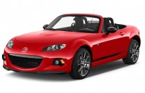 2013 Mazda MX-5 Miata 2-door Convertible Auto Club Angular Front Exterior View