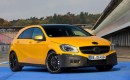2013 Mercedes-Benz A 45 AMG teaser images
