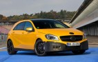2013 Mercedes-Benz A 45 AMG Official Teaser Images Released