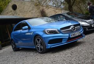 2013 Mercedes-Benz A Class: U.S-Bound Premium Compact Driven