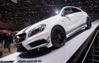 2013 Mercedes-Benz A45 AMG Live Photos From Geneva