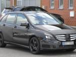 2013 Mercedes-Benz B-Class AMG spy shots