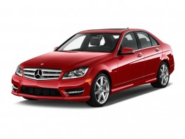 2013 Mercedes-Benz C Class 4-door Sedan C250 Sport RWD Angular Front Exterior View