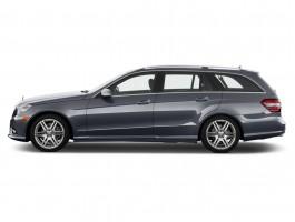 2013 Mercedes-Benz E Class 4-door Wagon E350 Luxury 4MATIC Side Exterior View