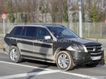 2013 Mercedes-Benz GL Class spy shots