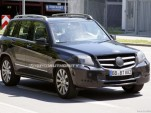 2013 Mercedes-Benz GLK-Class facelift spy shots