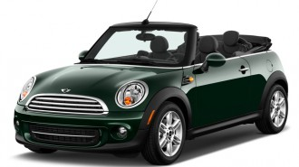 2013 MINI Cooper Convertible 2-door Angular Front Exterior View