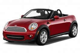 2013 MINI Cooper Roadster Angular Front Exterior View