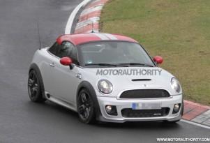 2013 MINI Coupe JCW GP spy shots
