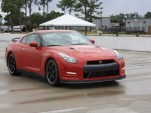 The 2013 Nissan GT-R at Palm Beach International Raceway