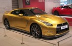 Live Photos Of Usain Bolt's One-Off Gold Nissan GT-R