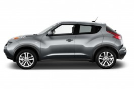 2013 Nissan Juke 5dr Wagon CVT SV AWD Side Exterior View
