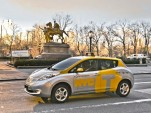 NYC Officially Launches Nissan Leaf Electric Taxi Program