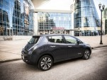 2013 Nissan Leaf at Nissan U.S. Headquarters, Franklin, Tennessee